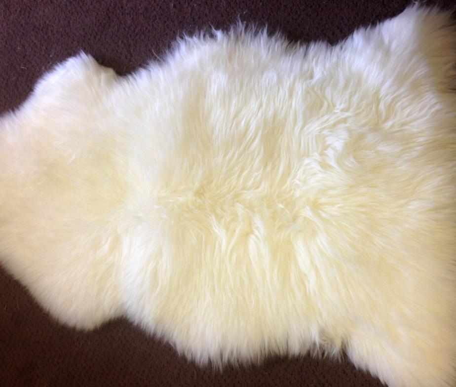 ... ivory sheepskin rug ... YIKSSIJ