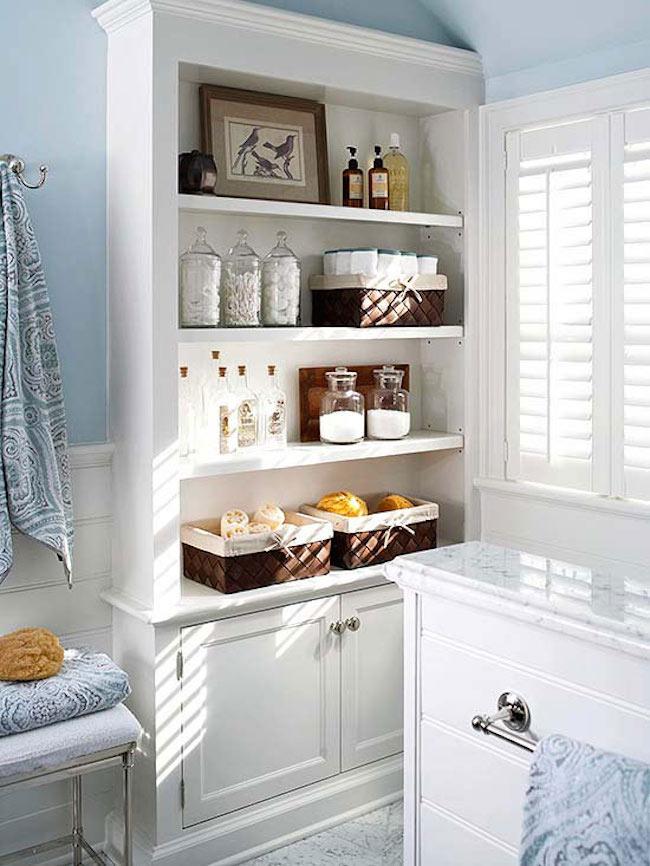 Unique bathroom storage ideas