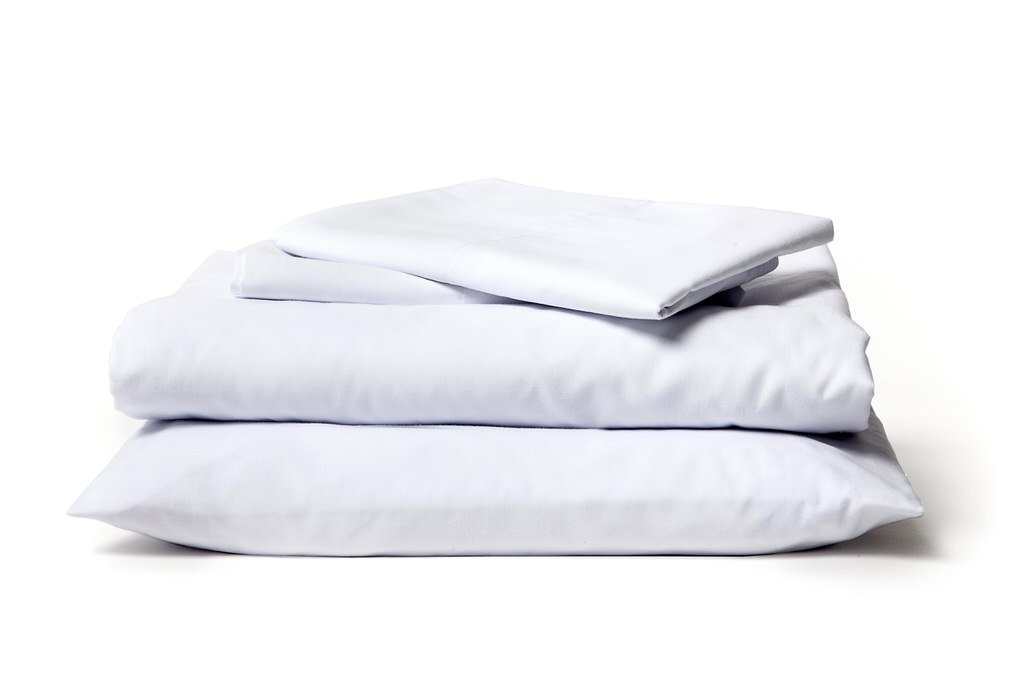... signature white - made in usa supima cotton bed sheets ... LJJNALB