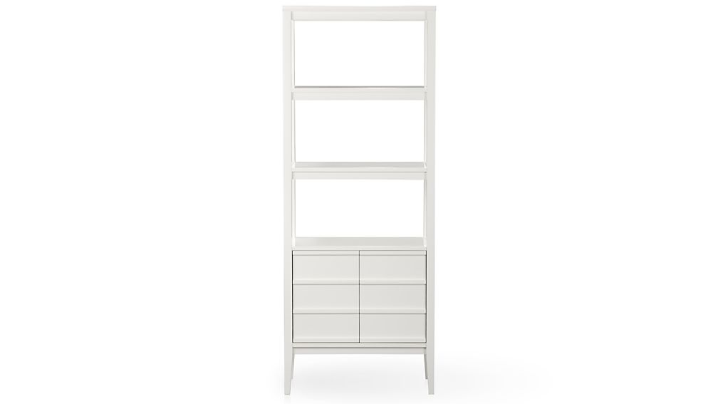 ... spotlight white bookcase ... SAGJNWF
