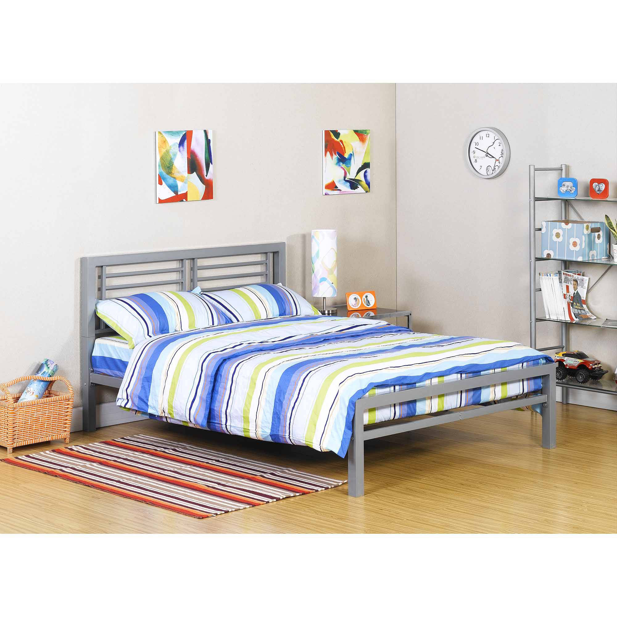 ... your zone metal full bed, multiple colors MNBRQIM