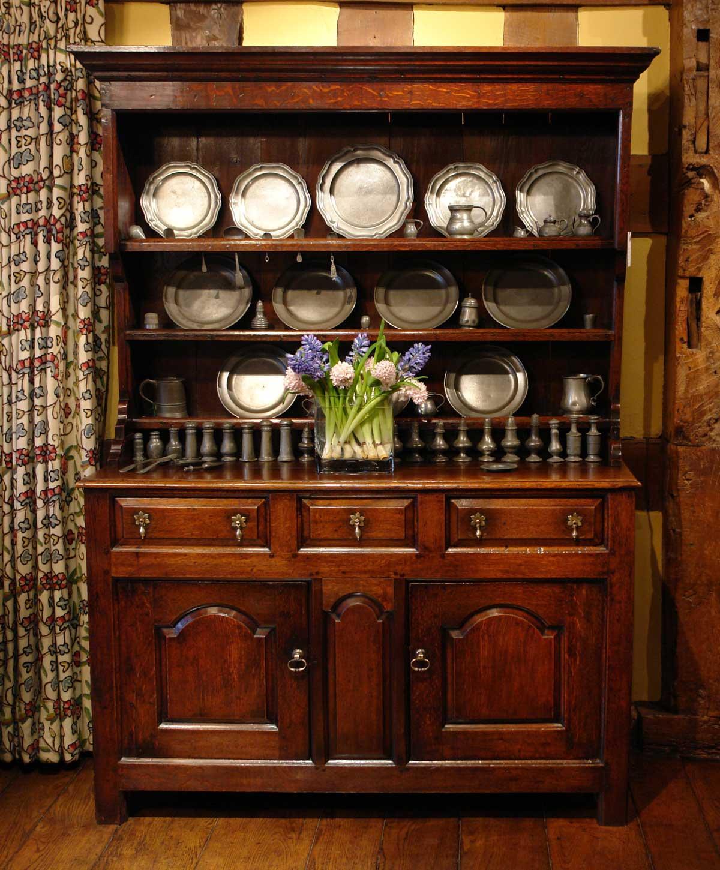 18th century oak welsh dresser FLBGIBF