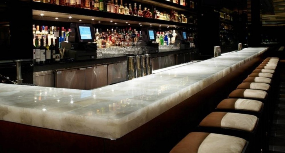 20mm artificial onyx marble juice bar counter for sale - buy juice bar YJDRKSS