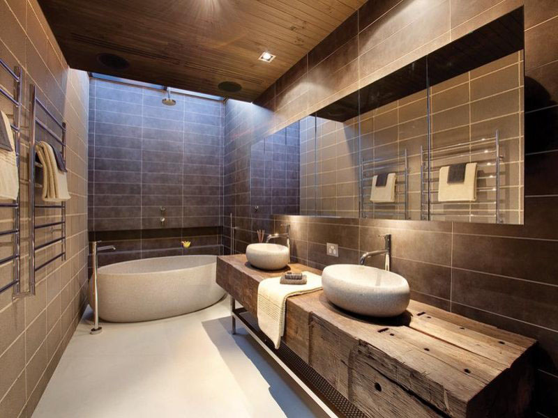 30 modern bathroom design ideas for your private heaven - freshome.com FABZEKY