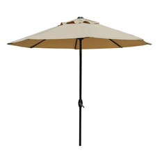 abba patio - market outdoor umbrella, beige - outdoor umbrellas DUFEBLJ