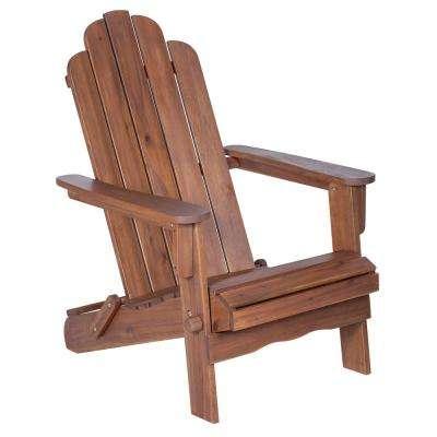 adirondack chairs boardwalk dark brown outdoor adirondack chair ITGXCZB