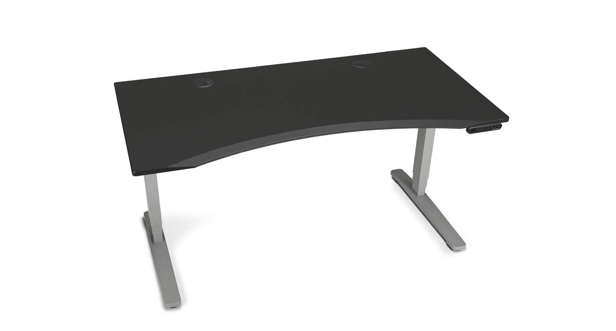 adjustable height desk get the extra height you need to keep working in comfort and with VSEOYVQ