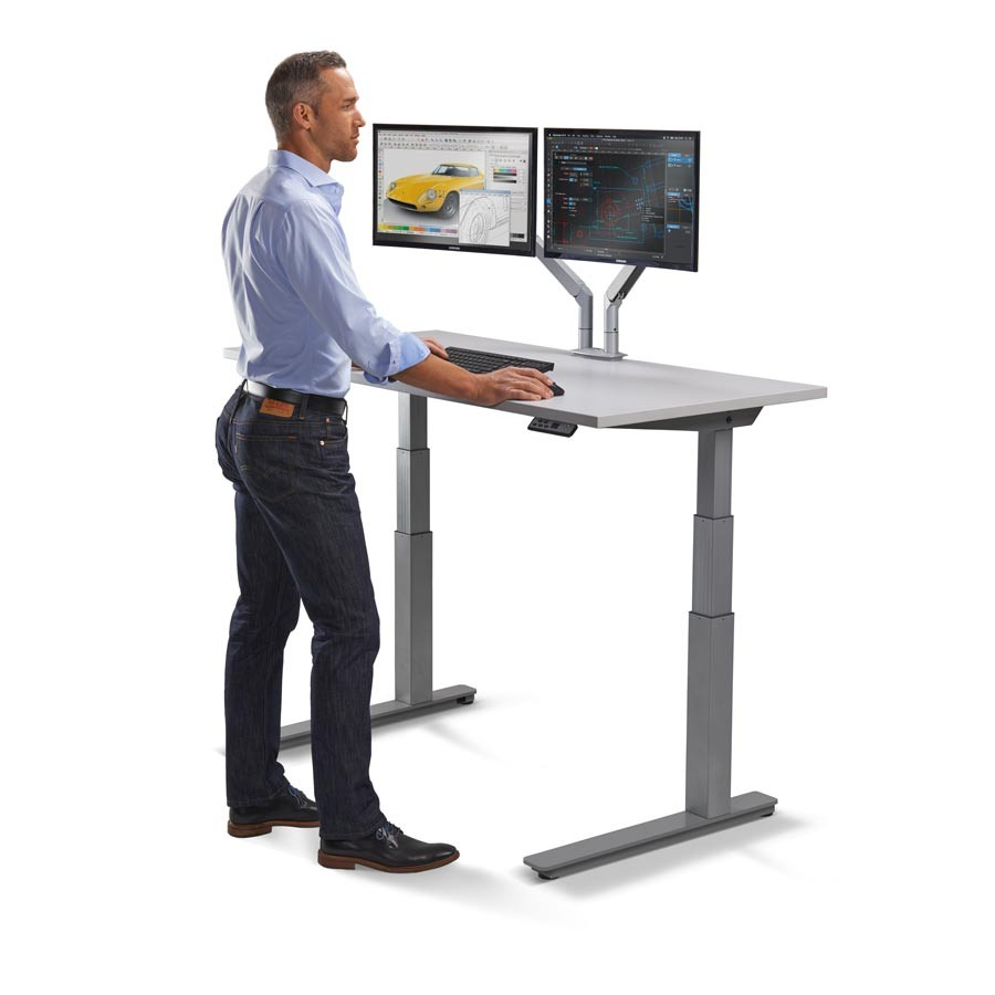 adjustable height desk standing desk BKCHHXB