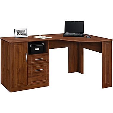 altra™ chadwick collection corner desk, virginia cherry XMFGSJY