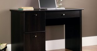 amazon.com: sauder computer desk, cinnamon cherry finish: kitchen u0026 dining NETIJXK