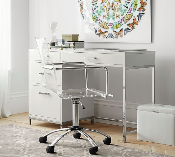 ava small desk WLIKION