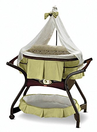 baby bassinet fisher-price zen collection gliding bassinet (discontinued by manufacturer) EXMJLDH