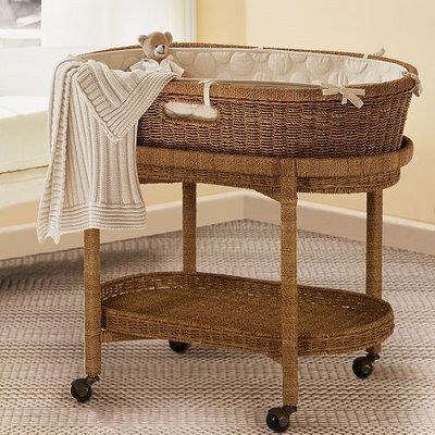 baby bassinet vintage to modern baby bassinets and moses baskets: includes pottery barn  kids EWNZCJN