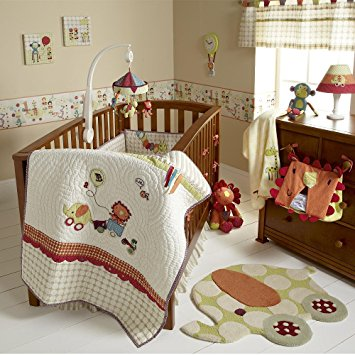 baby bedding sets mamas u0026 papas jamboree baby bedding set (4-piece) BRFFTZJ