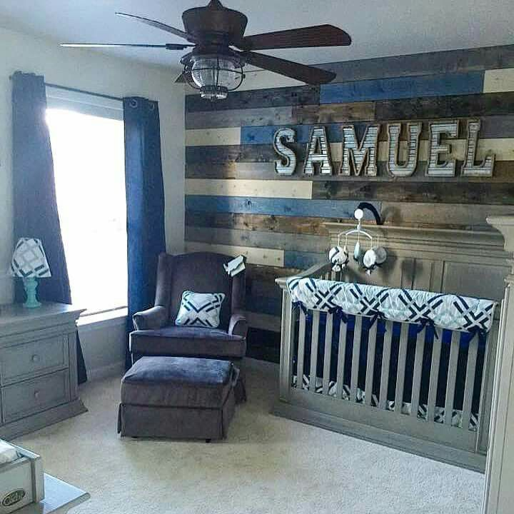 Ordinaire Baby Boy Nursery Ideas Loooove The Wall For My Boyu0027s Room! IDQGNQX