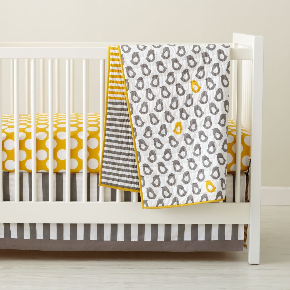 Keep your babies safe by working on the idea of crib bedding