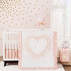 baby girl bedding image of lambs u0026 ivy sweetheart crib bedding collection zlpagxo - Baby Girl Bedding