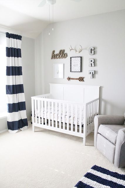 baby nursery grahamu0027s nursery reveal || neutral baby boy nursery WERQFCR
