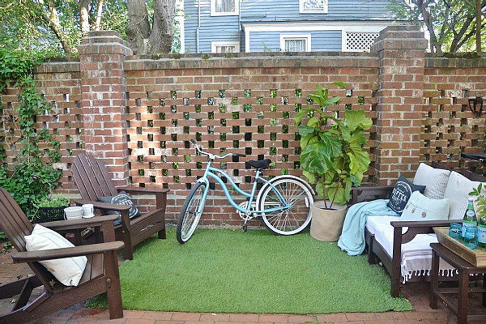 backyard ideas go green QQQPISV