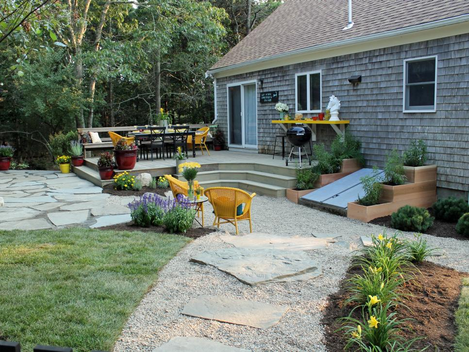 backyard landscaping after: entertaining oasis KCRVVNE