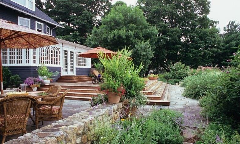 backyard landscaping westover landscape design tarrytown, ny SDEWMYK