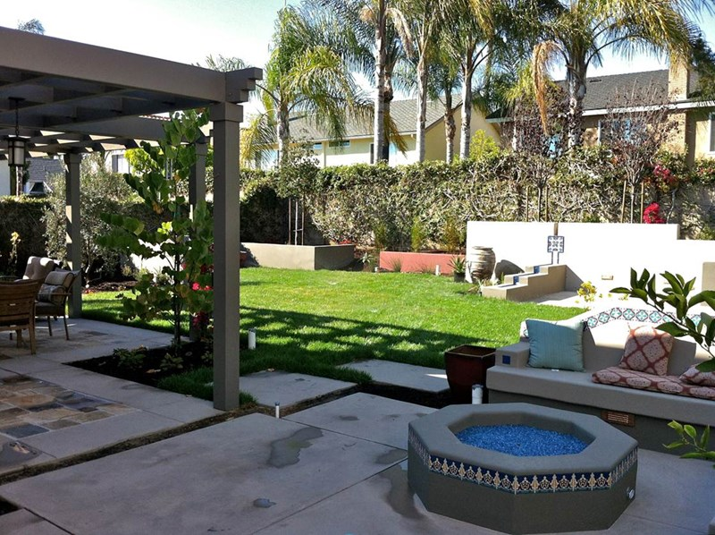 backyard patio cover, backyard fire pit, backyard lawn backyard landscaping  terry design RFMQKYD