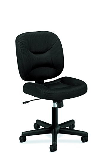 basyx by hon low back task chair - mesh computer chair for office YDJVSTU
