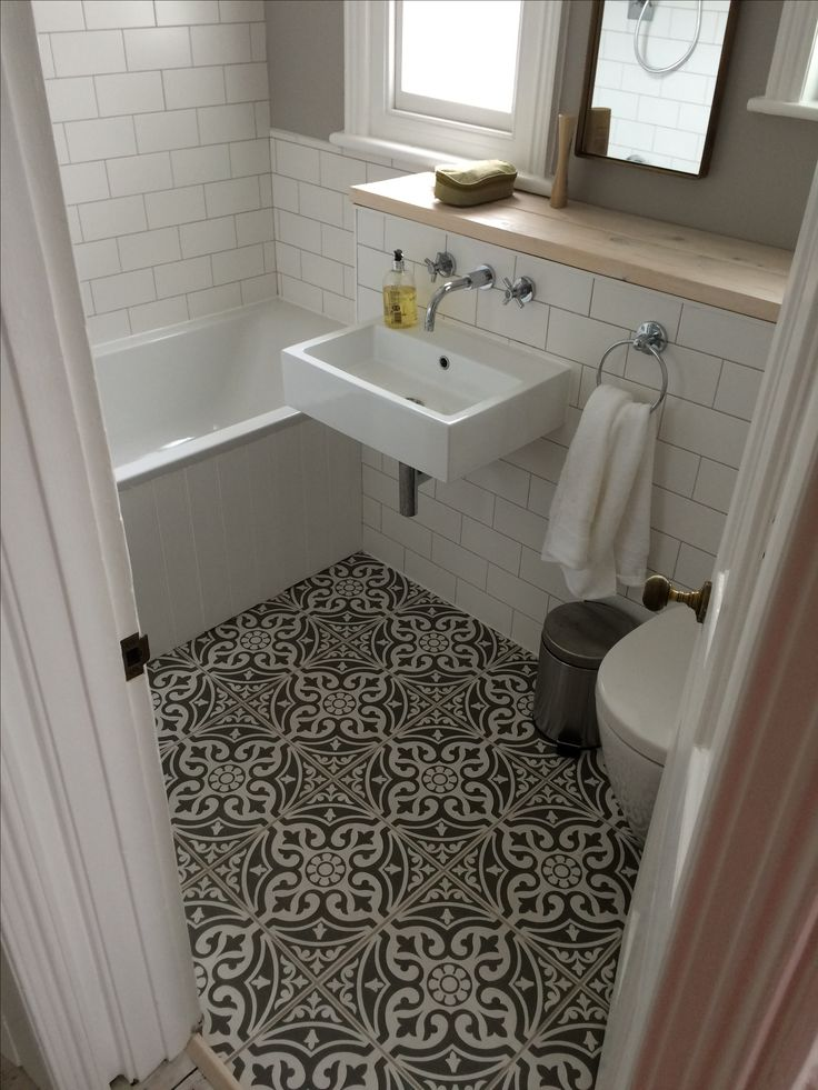 bathroom floor tiles definitely copying these tiles for our downstairs bathroom #tonsoftiles  greatu2026 JBGTCPP