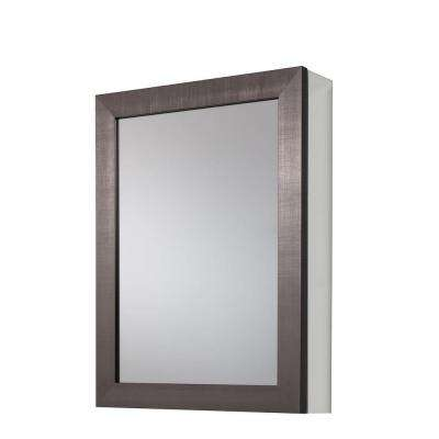 bathroom medicine cabinets 20 in. x 26 in framed aluminum recessed or surface-mount bathroom medicine WEVALYK