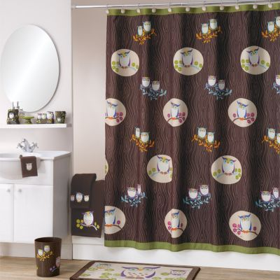 bathroom sets allure home creations awesome owls bathroom accessories collection DLZZXCN