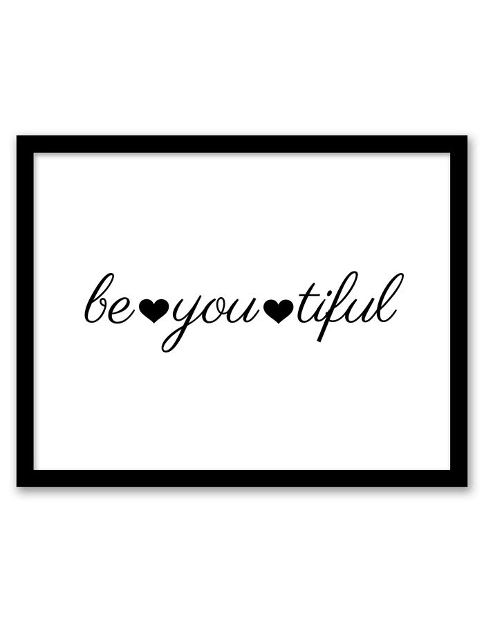 bathroom wall art be you tiful wall art YQURRLB