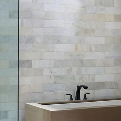 bathroom wall tiles large wall tile gives the illusion that rooms are larger than they actually BKAWOVX