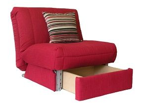 bed chair leila deluxe chair bed + storage on sofabed barn multi-purpose furniture  the JLCJLVS