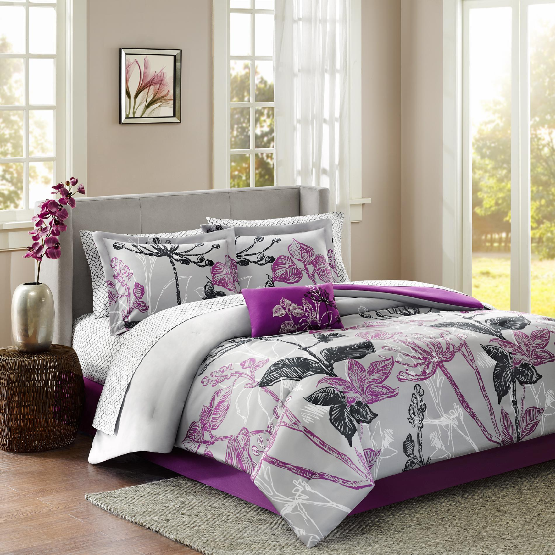 bed sets madison classics kendall 9 piece complete bed set BHQRJTP