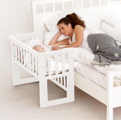 bedside crib berços acoplados (co-sleeper): cama compartilhada com espaço e segurança! DEBYCBD
