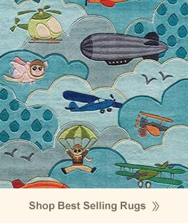 best selling kids rugs ... RDOBLNV