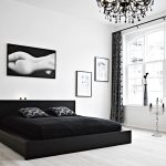 black and white bedroom 40
