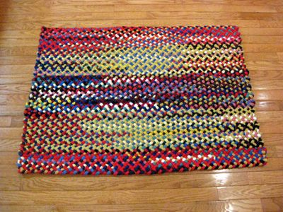braided rugs 32 QINDYIL