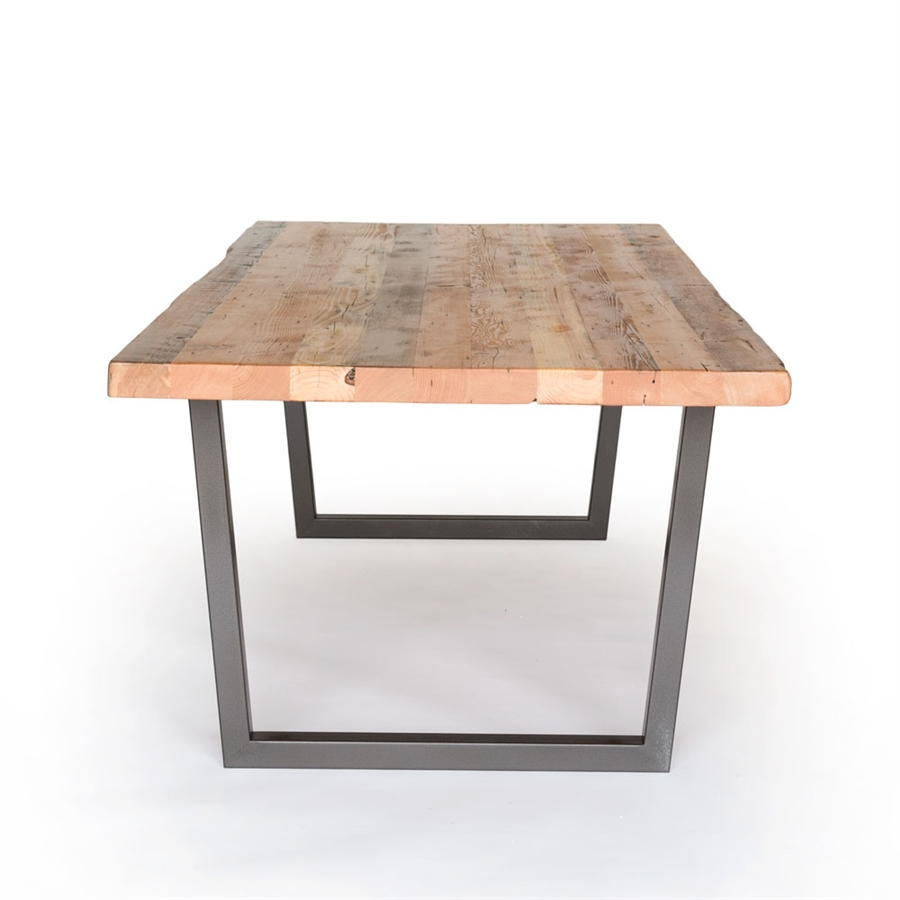 brooklyn modern rustic reclaimed wood dining table GOUUXBJ