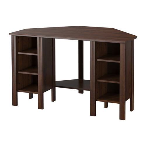 brusali corner desk ikea you can customize your storage as needed, since GQFEJZK