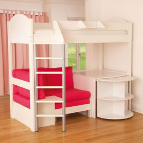 bunk beds with desk 25+ best bunk bed desk ideas on pinterest | bunk bed with desk, EDPMJTN
