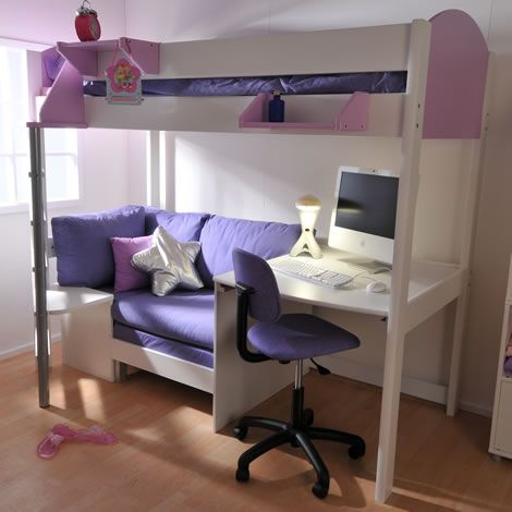 bunk beds with desk futon bunk bed with desk pictures, love this, my girls would love this BOTLNEF