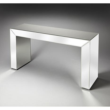 butler specialty emerson mirrored console table GKQCCEB