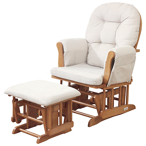 buy kub haywood glider nursing chair and footstool, natural online at  johnlewis.com CZCBXBR