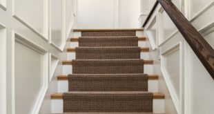 carpet runners carpeting stairs staircase traditional with black and white photography  brown runner recessed ZSXHLZW
