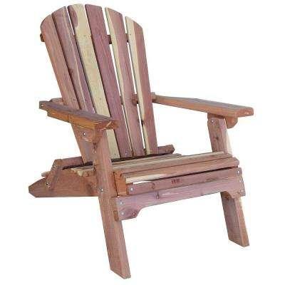 cedar patio adirondack chair HYHBPKW