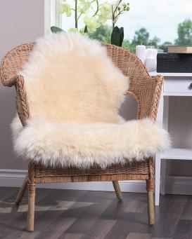 champagne sheepskin rug (2x3.5 ft) TBCSCEY