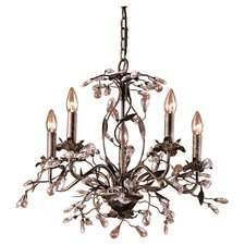 chandeliers 5-light crystal chandelier VBWWKTJ