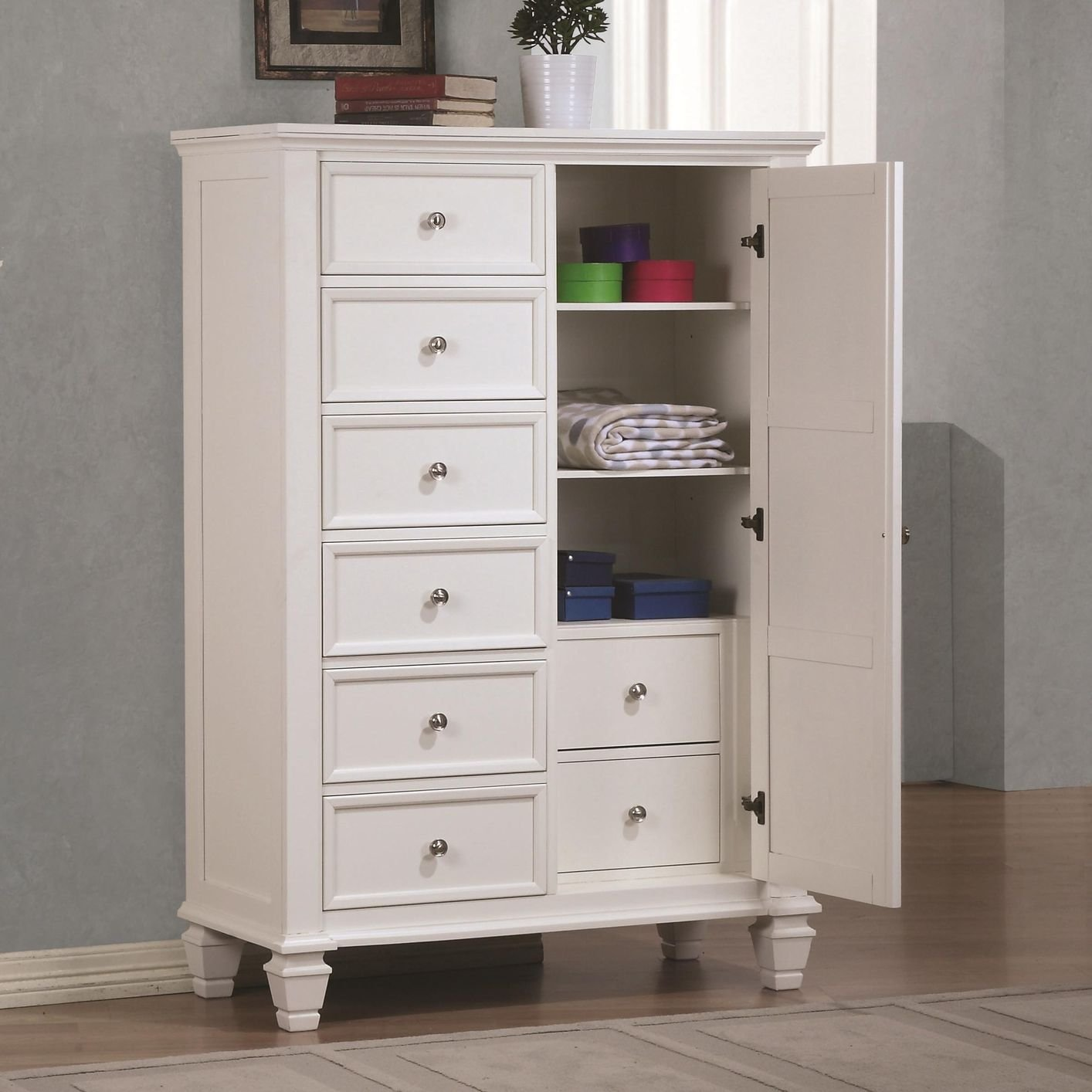 chest drawers white wood chest of drawers QATNEUC