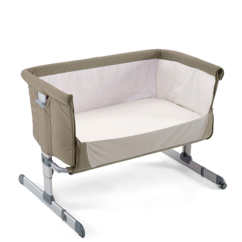 chicco next2me bedside crib - dove grey RBAAXXB